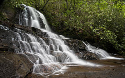 Photograph - Laurel Falls by Ken Barrett