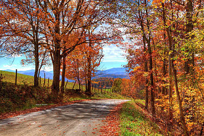 Photograph - Laurel Hill Autumn by Dale R Carlson