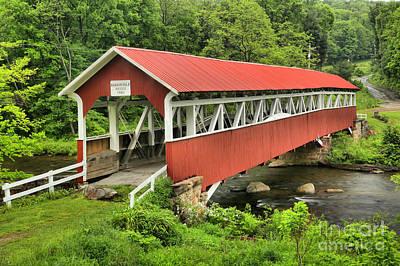Photograph - Laurel Hill Creek Bridge by Adam Jewell