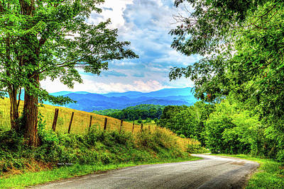 Laurel Hill View Art Print by Dale R Carlson