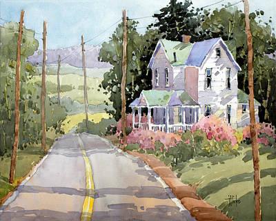 Painting - Laurel Mountain Farm by Joyce Hicks