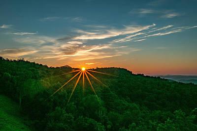 Photograph - Laurel Ridge Sunrise by Chris Berrier