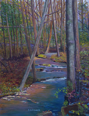 Painting - Laurel Run On Whipple's Road by Denise Wagner