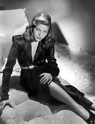 Bacall Photograph - Lauren Bacall by Unknown