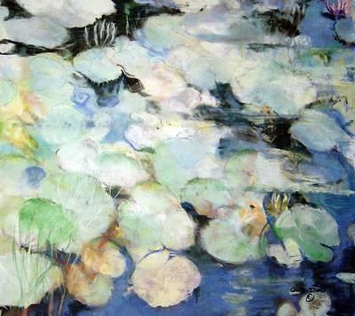 Lauren's Lillies Art Print by Anita Stoll