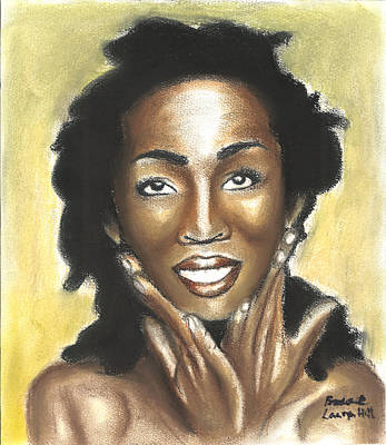 Negro Painting - Lauryn Hill by Broderick Hill