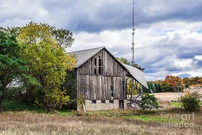 Photograph - Lautner Barn by Grace Grogan