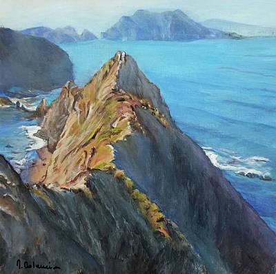 Painting - L'autre Californie by Muriel Dolemieux