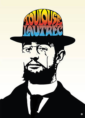 Digital Art - Lautrec by Gary Grayson