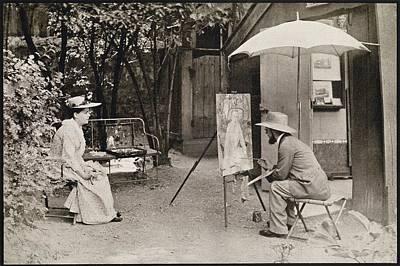 Berthe Drawing - Lautrec Painting Berthe La Sourde 1890 by Vintage Design Pics