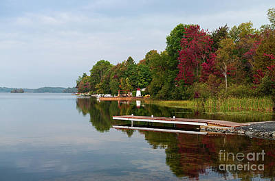 Photograph - Lauzon Lake by Les Palenik