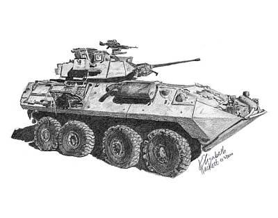 Lav-25 Art Print