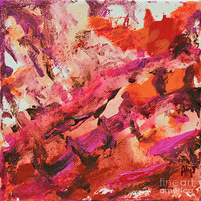 Painting - Lava by Alys Caviness-Gober