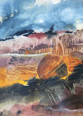 Painting - Lava Bed by Marilyn Woods