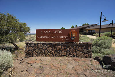 Photograph - Lava Beds National Monument California Dsc5315 by Wingsdomain Art and Photography