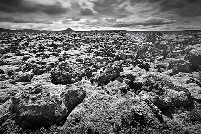 Photograph - Lava Field Iceland by Peter OReilly
