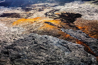 Photograph - Lava Field by M G Whittingham