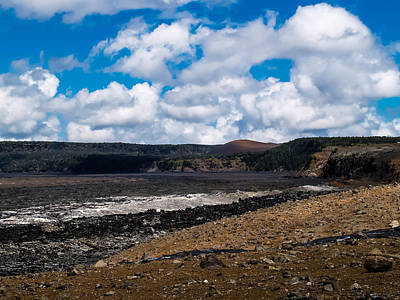Photograph - Lava Field by Randy Sylvia