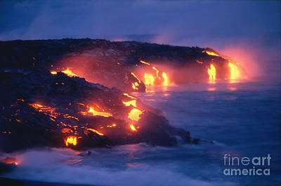 Photograph - Lava Flow by Peter French - Printscapes
