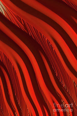 Digital Art - Lava Flow by Steve Purnell