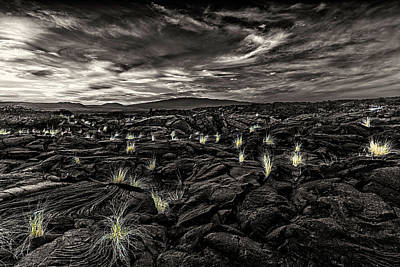 Lava Flow Art Print by Thomas Ashcraft