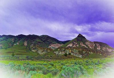 Photograph - Lava Hills Of Oregon by Dale Stillman