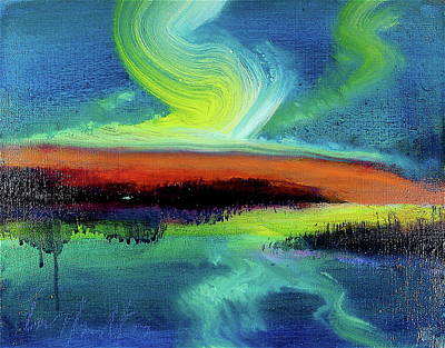 Painting - Lava Light by Les Leffingwell