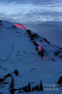 Photograph - Lava On The Mountain by Paul Conrad