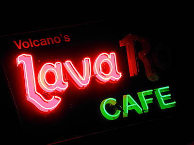Photograph - Lava Rock Cafe by Elizabeth Hoskinson