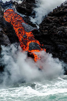 Photograph - Lava Train by Daniel Murphy
