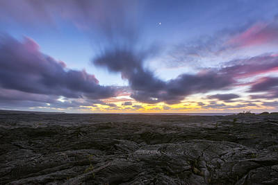 Photograph - Lava Twilight by Ryan Manuel