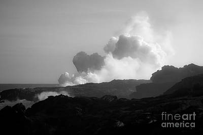 Big Island Photograph - Lavascape by Craig Ellenwood