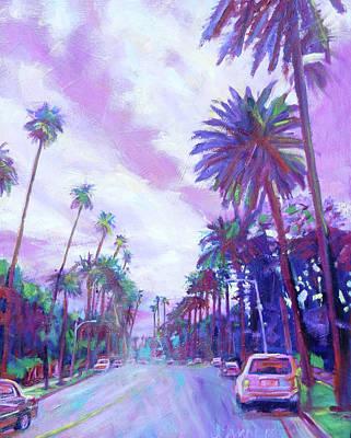 Painting - Lavendar Days by Bonnie Lambert
