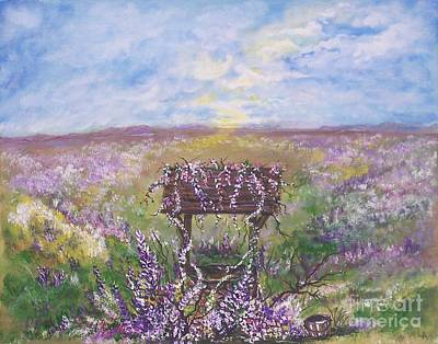 Painting - Lavendar Wishes by Leslie Allen