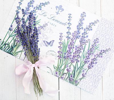 Photograph - Lavende by Rebecca Cozart