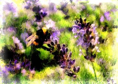 Digital Art - Lavender 2016 by Kathryn Strick