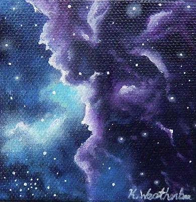 Lavender Astrology Original by Kari Weatherbee