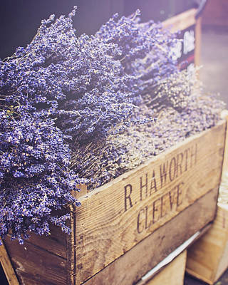 Photograph - Lavender At Borough Market by Heather Applegate