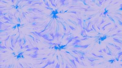 Digital Art - Lavender Blue 2 by Linda Velasquez