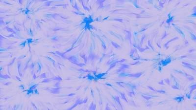 Digital Art - Lavender Blue 2 by Linda Velasquez
