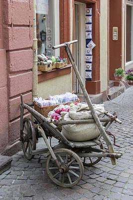 Photograph - Lavender Cart by Teresa Mucha
