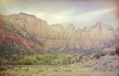 Zion National Park Digital Art - Lavender Dreamscape by Jim Cook