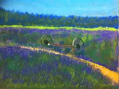 Ruben Carrillo Wall Art - Painting - Lavender Fair by Ruben Carrillo
