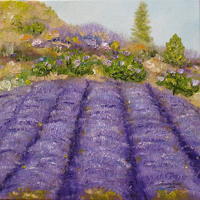 Painting - Lavender Field by Judith Rhue