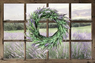 Photograph - Lavender Field by Lori Deiter