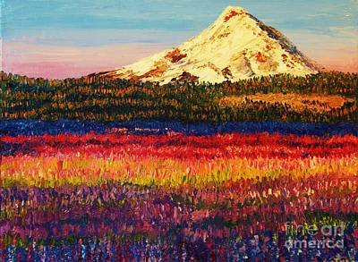 Painting - Lavender Fields by Eryn Tehan