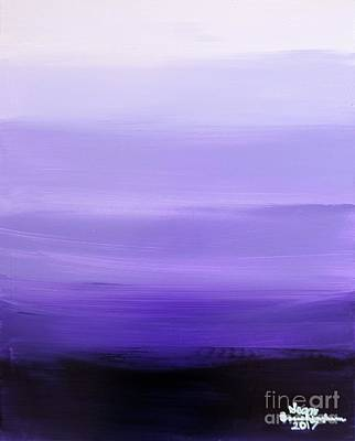 Painting - Lavender Fields by Sean Brushingham