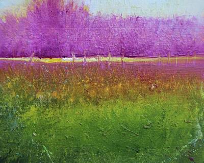 Painting - Lavender Garden by Alicia Maury