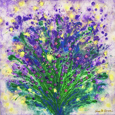 Painting - Lavender by Gina De Gorna