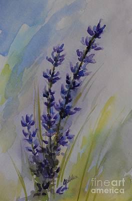 Lavender Art Print by Gretchen Bjornson